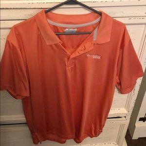 Columbia men's polo shirt